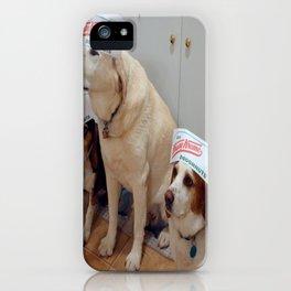 DoughnutDogs iPhone Case