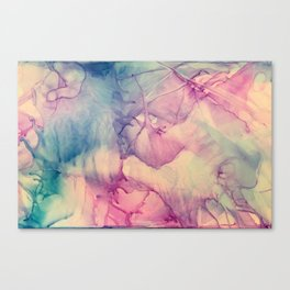 Whispy Colors Canvas Print