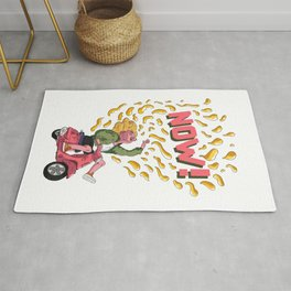 Scooter Girl Rug