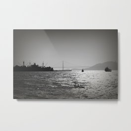 Looking Towards Golden Gate Metal Print