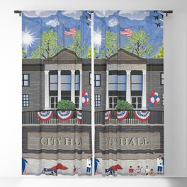 Patriotic Parade Blackout Curtain