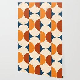 60s Beans Pattern Wallpaper