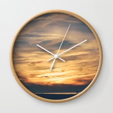 Cape Sunsets #2 Wall Clock