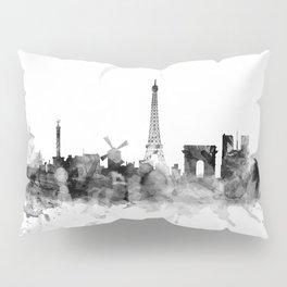 Paris France Skyline Pillow Sham