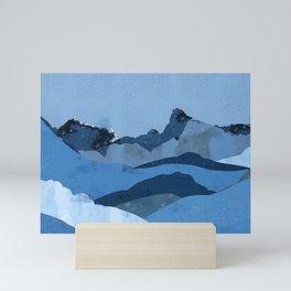Mountain X Mini Art Print