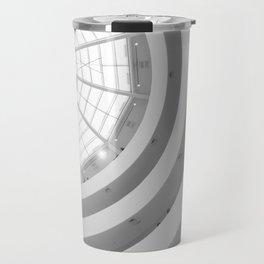 Guggenheim Interior   Frank Gehry   architect Travel Mug