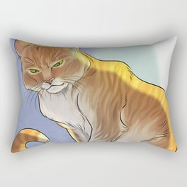 Royal Cat Rectangular Pillow