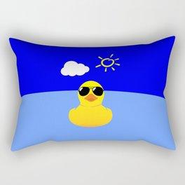 Cool Rubber Duck Rectangular Pillow