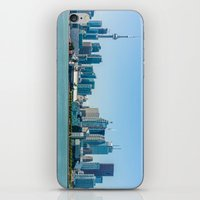 toronto iPhone & iPod Skins featuring Toronto  by Slyschoberg