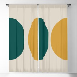 Lemon - Shift Blackout Curtain