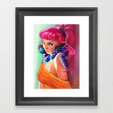 Orangesicle Framed Art Print