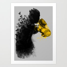 float like butterflies, sting like a bee Art Print