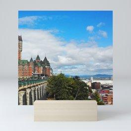 Canada Photography - Fairmont Le Château Frontenac Mini Art Print