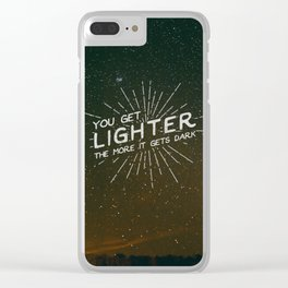 A Sky Full Of Stars Clear iPhone Case