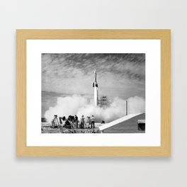 Cape Canaveral on July 24, 1950. Framed Art Print
