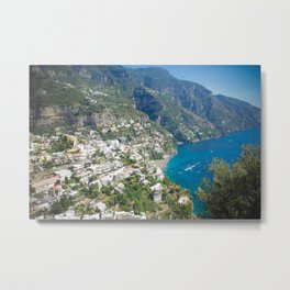 Photo seascape Amalfi Coast Italy Metal Print