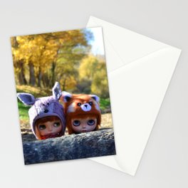 Honey & Robin - Autumn nature Stationery Cards