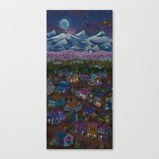 Adventure Town Canvas Print