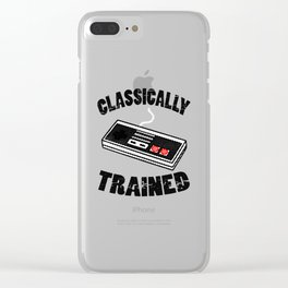 I'm Classically Trained Clear iPhone Case