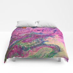 Pink Fantasy Comforters