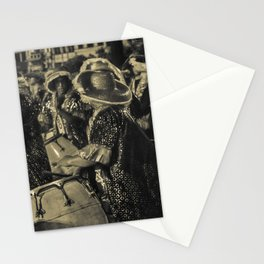 Group of Candombe Drummers at Carnival Parade of Uruguay Stationery Cards