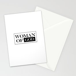 Woman of God Stationery Cards