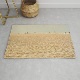 Beach on the sand Rug