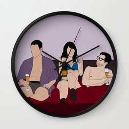 Lito, Daniela and Hernando Wall Clock
