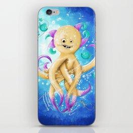 OCTOPUS MONSTER iPhone Skin