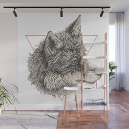 The Fox of Blackwood Wall Mural