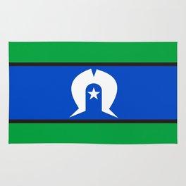 Torres Strait Islander people ethnic flag Rug