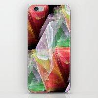 transparent iPhone & iPod Skins featuring Transparent Layers by Sartoris ART