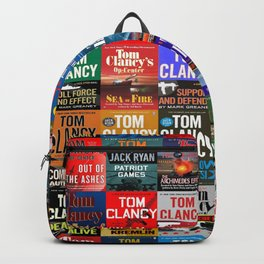 Tom Clancy Books Backpack