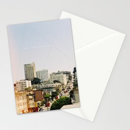 San Francisco from the rooftops Stationery Cards