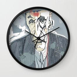 William S. Burroughs Wall Clock