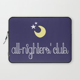 all-nighters' club Laptop Sleeve
