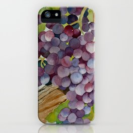 A Glass of Red wine iPhone Case