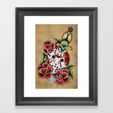 Mama's Boy Framed Art Print