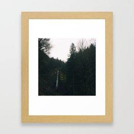 Latourell Falls Oregon Framed Art Print
