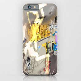 London Shoreditch graffiti iPhone Case