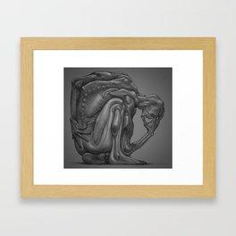 Hunch Framed Art Print