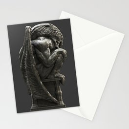 Cthulhu Statuette I Stationery Cards