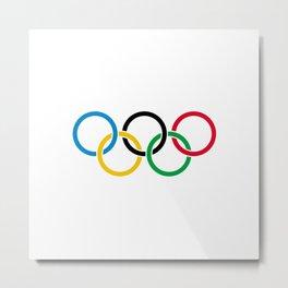 Olympic Logo Metal Print