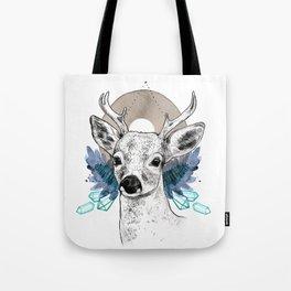The Deer (Spirit Animal) Tote Bag