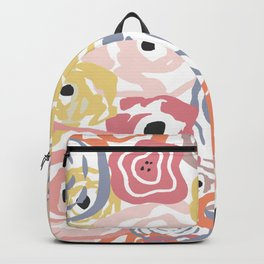Colorful Flower Bundle Backpack