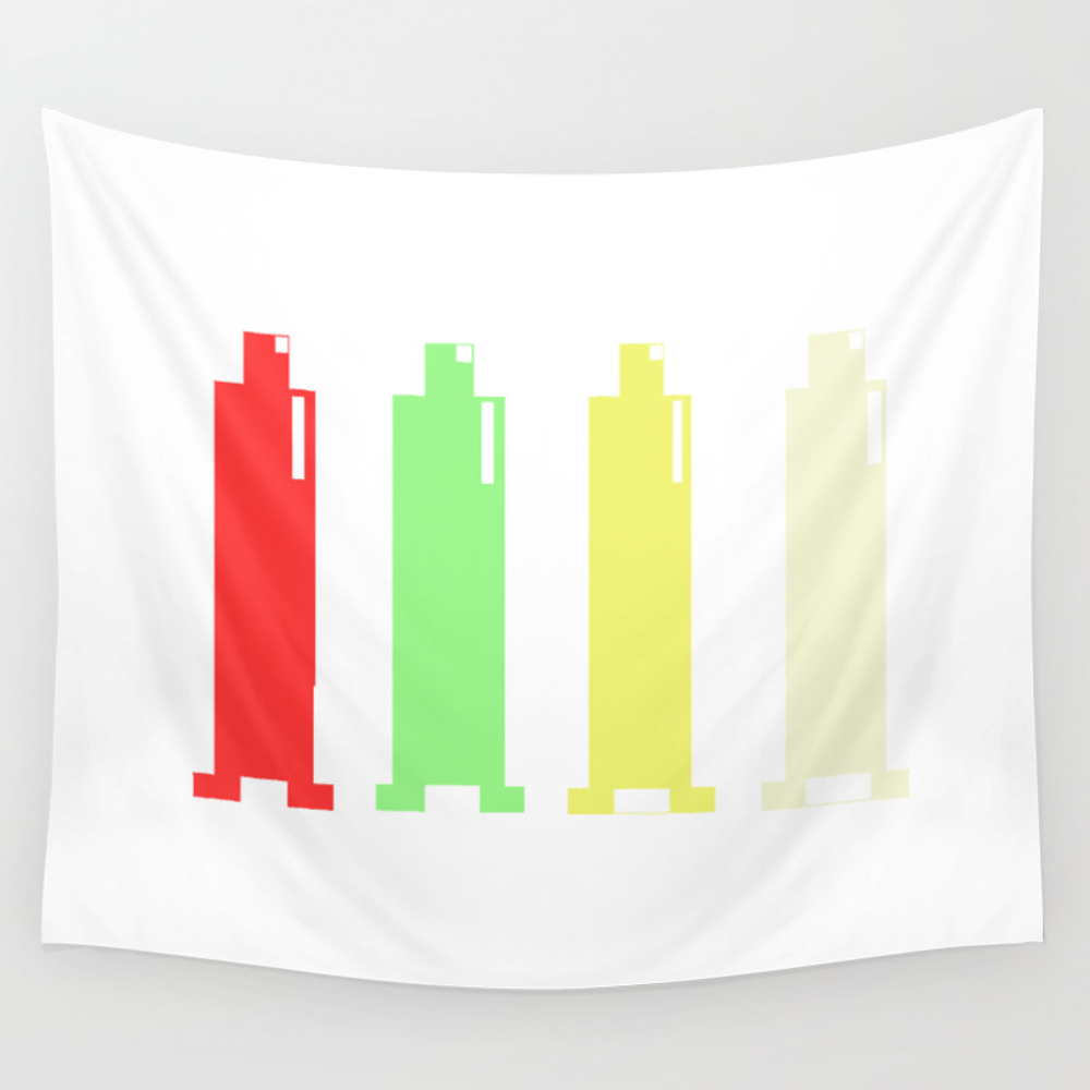Condoms Wall Tapestry by Lillycloud TPS3409885