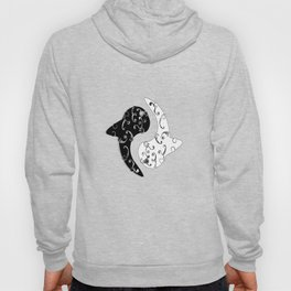 Ying Yang and the White Whale  Hoody
