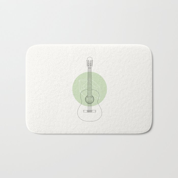 Guitar Bath Mat