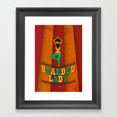 Bearded Lady Framed Art Print