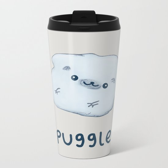 Puggle Metal Travel Mug